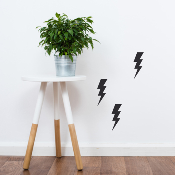 Wall sticker - Lightning bolt