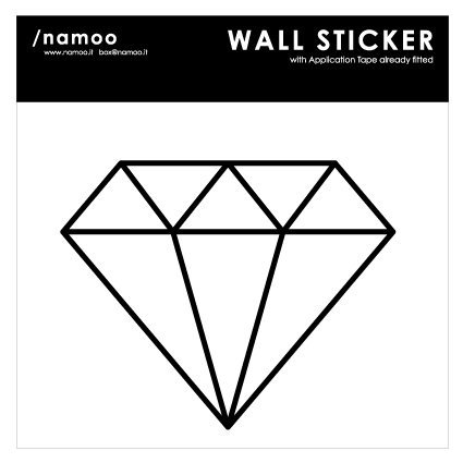 wallsticker+applacatiotape-DIAMANTE
