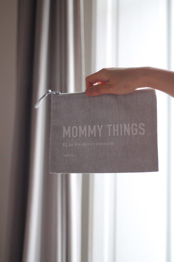 POCHETTE IN TELA / MOMMY THINGS