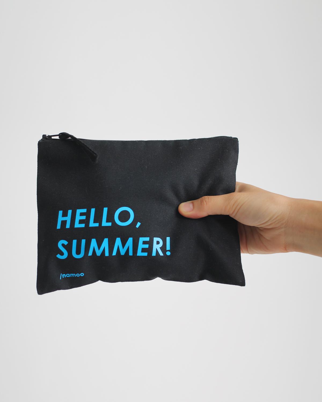 Pochette in tela / Hello Summer
